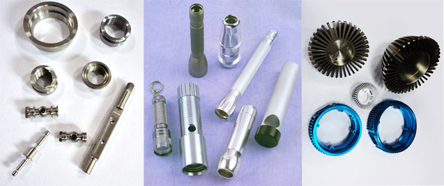 Precision cnc machined metal, steel, aluminum parts